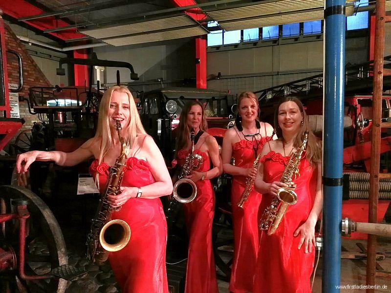 39. Konzert im Feuerwehr- und Technikmuseum in Eisenhüttenstadt Mai 2016