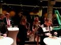 Get together Abendverstaltung LiGo auf der BAUTEC - Messehallen in Berlin