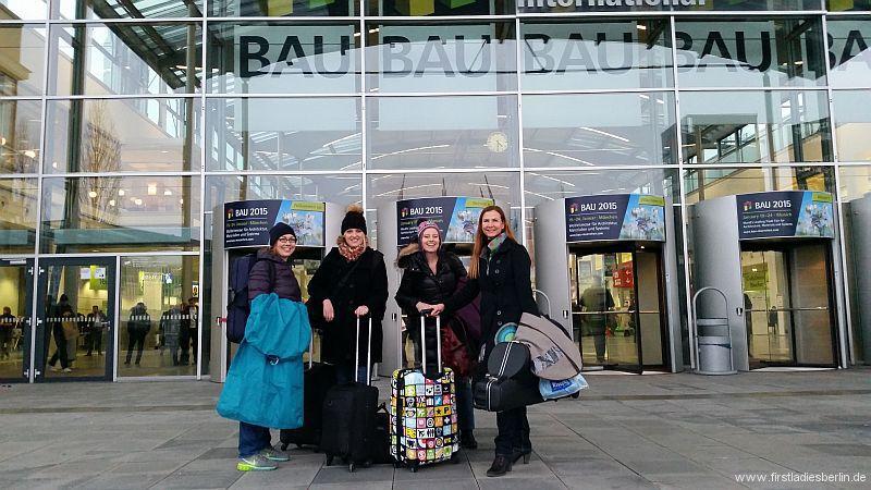 Peikko Bau Messe 2015 Munchen Saxophonquartett First Ladies Berlin